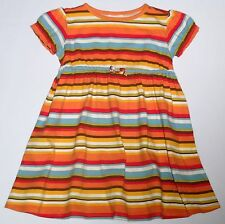 Crazy 8 by Gymboree Cotton Knit Fall/Autumn Striped Dress, 5 yrs