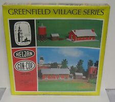 Heljan Con Cor vintage ho Henry Ford Greenfield Village train station Kit NIB!