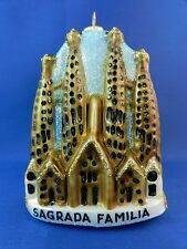 Sagrada Familia Cathedral Barcelona Spain Glass Christmas Ornament Travel 011235