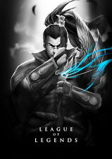 "117 League of Legends LOL - Yasuo Hero playing Hot Online Game 14""x20"" Poster"