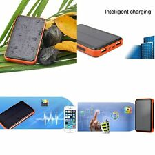 Mobile Phone 20000mah Solar Power Bank Waterproof Double USB Battery Charger