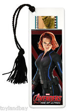 Film Cell Genuine 35mm Marvel's Avengers Age of Ultron Black Widow Bookmark 716