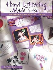 Hand Lettering Made Easy, Debra Beagle, 1930500130, Book, Acceptable