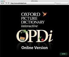 Oxford Picture Dictionary Online Access Code : Access Code Only by Jayme...