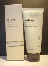 AHAVA TIME TO CLEAR Purifying Mud Mask with Active Dead Sea Minerals NIB!!!