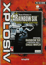 RAINBOW SIX: GOLD PACK EDITION (2 DISCS) -  PC GAME *** Brand New & Sealed ***