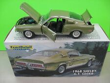 1968 FORD SHELBY G.T  500 K.R  EXACT DETAIL #0008 OF 1250 1:18 LANE  1:18 LIME