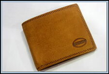 New HOT Brown FOSSIL LEATHER WALLET Purse For Gift
