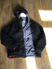 Black Padded Hooded Jacket From Supremebeing Size M