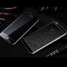 3D Diamond Tempered Glass Front+Back Screen Protector For iPhone4 5s 6 6splusHGU