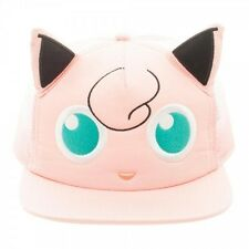 OFFICIAL POKEMON JIGGLYPUFF FACE WITH EARS TRUCKER SNAPBACK CAP (BRAND NEW)