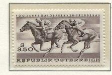 Österreich Austria 1265 100 Jahre Galopprennen Wien-Freudenau, Galopper 1968 **