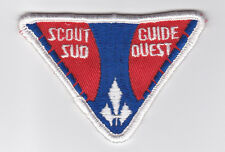 SCOUT OF CANADIAN - ASSOCIATION DES SCOUTS DU CANADA ASC SUD-OUEST GUIDES Patch