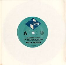 "Billy Ocean - Caribbean Queen/European Queen - 7"" Vinyl 45 RPM Single"