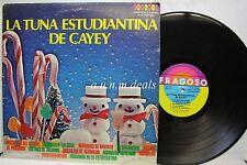 """la tuna estudiantina de cayey - Fragoso Records  LP 12"""" (VG)"""
