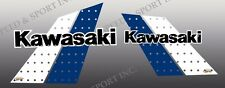 KAWASAKI 1984 84 KX125 KX 125 TANK DECALS GRAPHICS - Wicked Tough version