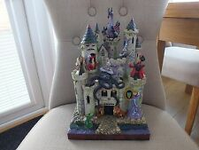 RARE Disney Traditions Tower Of Fright Disney Villains Jim Shore Showcase