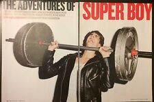 Justin Bieber 7pg + cover ROLLING STONE magazine feature, clippings