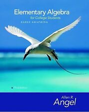 Elementary Algebra Early Graphing For College Students by Allen R Angel