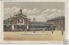 AK Laon  Der Bahnhof / La gare  1.WK Feldpost S.B.1.F.P.C.R.P.B.8.  (X803)