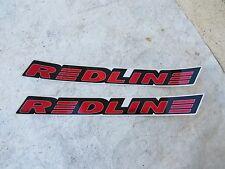REDLINE DECALS RL RED bmx cruiser freestyle VINTAGE NOS