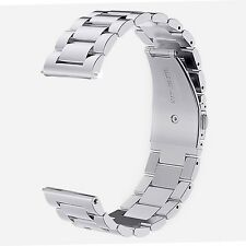 Withings Steel HR Watch Band - V-Moro Solid Stainless Steel Metal Business Re...