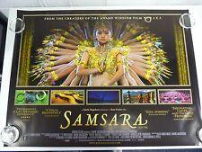 Samsara Documentary Original Film / Movie Poster Quad 76x102cm