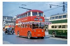 gw0452 - Manchester Trolleybus no 1209 at Piccadilly Square in 1956 - photograph