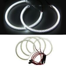 4PCS CARCHET Angel Eyes 60 SMD 3528 LED Halo Light for BMW E36 E38 E39 E46
