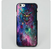 Cute Owl Dream Catcher Bitch for iPhone 6 6S Plus 5 5S 5C 4 4S Hard Case d2