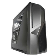 NZXT PHANTOM 410 GUNMETAL GREY ATX USB 3 PC CASE WITH SIDE WINDOW & COOLING FANS