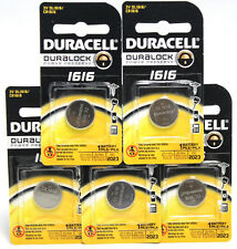 100x Duracell 1616 Batteries Duralock 3V DL1616 CR1616 Button Coin Watch 12/2023
