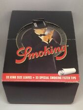 Smoking 24 Booklets 110 Mm King size Rolling Paper With Special Smoking Filters