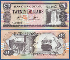 GUYANA 20 Dollars  (1996)  UNC  P.30 e