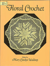Floral Crochet - patterns from thread-company booklets of 1940s & 50s NEW PB