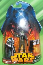 STAR WARS ROTS SERIES # 57 COMMANDER GREE FIGURE WITH GREEN BATTLE GEAR