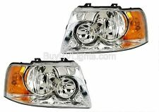 MONACO SIGNATURE FORTRESS IV 2007 PAIR HEADLIGHTS HEAD LIGHTS LAMPS FRONT RV