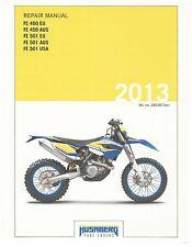 Husaberg service manual 2013 FE 450 EU, AUS & FE 501 EU, AUS & USA