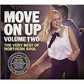 MOVE ON UP VOLUME TWO (2) THE VERY BEST OF NORTHERN SOUL CD (x3)