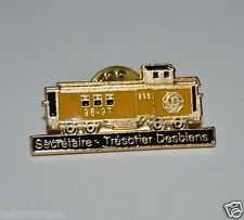 WOW Nice Optimist International Train Caboose 1997 Foreign Lapel Jacket Pin
