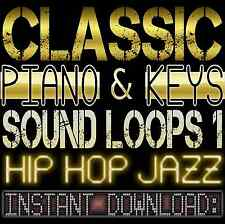 Hip Hop Jazz PIANO,KEYS,RHODES WAV Sample Sound LOOPS-Reason,Studio,Ableton,Akai