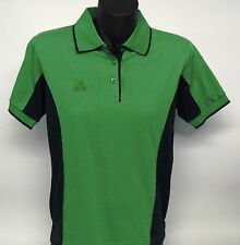 Sporte Leisure Ladies Lawn Bowls Polo Shirt Leaf/ Navy BA  Logo Size 8 10 only