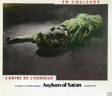 ASYLUM OF SATAN 1972 VINTAGE LOBBY CARD HORROR