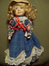 PORCELAIN COLLECTIBLE DOLL ORIENT IN'L TRADING INC. 15 INCH