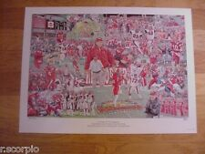 2002 Western Kentucky Hilltoppers Tribute to National Champions Football Print