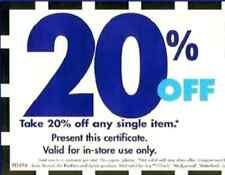 Bed Bath and Beyond 20% off One Single Item Coupon (One Coupon)