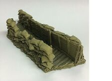 Javis Battle Zone Resin Trench Type 1. War Gaming. 1/72,1/76 20mm Scale. BZT1