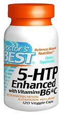 5HTP Enhanced with Vitamins B6 and C, 120 veggie caps, Doctor's Best