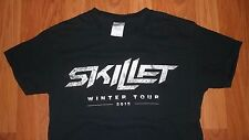(2 Sided) Small SKILLET Metal Christian Band 2015 Winter Tour Rock Concert shirt