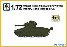 S-model 1/72 PS720057 Infantry Tank Matilda II CS (1+1)